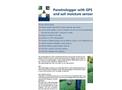 Eijkelkamp - Penetrologger with GPS and Soil Moisture Sensor - Brochure