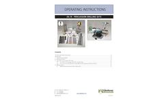 Eijkelkamp - Model 04.19 Percussion Drilling Sets - Operating Instructions Manual