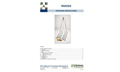 Eijkelkamp - Tripod Operating Instructions Manual