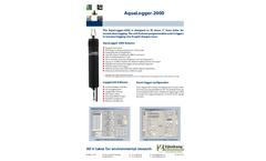 AquaLogger - Model 2000 - Multiparameter Water Quality Logger - Brochure