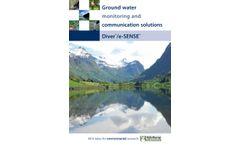 Diver Water Level Logger & e-SENSE Telemetry System - Brochure