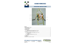 Hand Winches - Manual