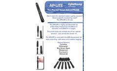 Eijkelkamp - Model AP-LITE - Single Parameter Set - Brochure