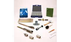Eijkelkamp - Model 07.53.SC - Soil Sample Ring Kit C, Ø 53 mm