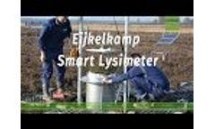 Installation Eijkelkamp Smart Lysimeter