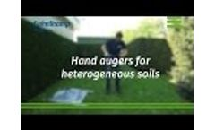 Hand auger equipment
