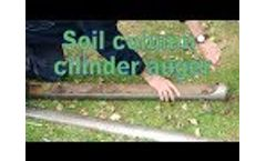 Soil Column Cylinder Video