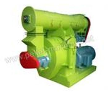 Allance Pellet Machinery - Ring Die Wood Pellet Machine