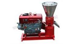 Allance Pellet Machinery - Diesel Flat Die Wood Pellet Machine
