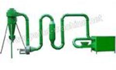 Allance Pellet Machinery - Pipe Dryer