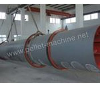 Allance Pellet Machinery - Rotary Drum Dryer