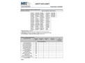 Universal Absorbents Material Safety Data Sheets (MSDS)