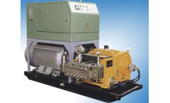 Ultra High Pressure Waterjet Cleaning Machine