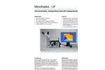 MicroLIF System - Concentration & Temperature Measurements Brochure