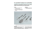 NI LabVIEW Toolbox for ComfortSense