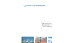 China Valves Technology Company Profile Brochure