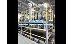 Case Study   Techase Multi Plate Disc Volute Sludge Dewatering Screw Press Electronic Organic Sludge