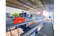 Case Study   Techase KS Filter Press in Power Plant