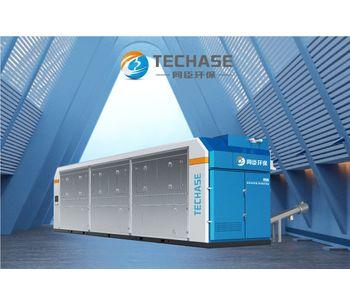 Techase Sludge Dryer - Multiple Heat Sources, Low Carbon, Smart