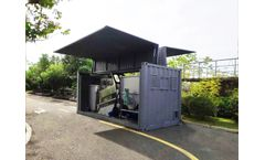Techase TECM Mobile Dewatering System | Yuehai Water Plant