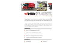 Redtop recycling for business Service Brochure