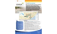 Flood Forecasting Module - Brochure
