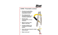 S3900 - Pneumatic Lock-out Brochure