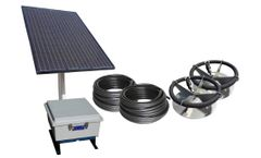 Scott Aerator - Solar Sub-Surface Aeration System
