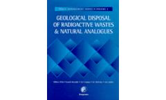 Geological Disposal of Radioactive Wastes en Natural Annalogues (Hardbound)