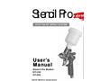 CT-100 - HVLP Mini Spray Gun with Cup User Manual
