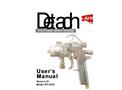 DT-3000 - HVLP Detach Spray Gun User Manual