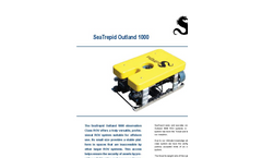 Outland - Model 1000 - Remotely Operated Vehicles (ROV) Brochure