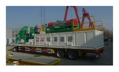 Decanter centrifuge & cuttings for drilling waste management & disposal