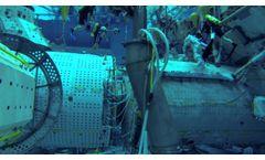 VideoRay Pro 4 ROV Training at the NASA Neutral Buoyancy Laboratory, Houston, TX - Video
