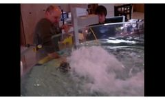 VideoRay Pro 4 ROV Brushless Thruster Test - 21 lbs Thrust Video