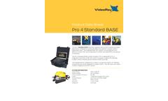 VideoRay - Model Pro 4 - Standard Base Remotely Operated Vehicle (ROV) System - Datasheet