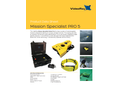 VideoRay - Model Pro 5 - Mission Specialist Operated Vehicle (ROV) System - Datasheet