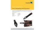 MSS Rotating Manipulator Arm - Datasheet