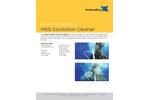 Cavidyne - Model 122 E60 - MSS - Cavitation Cleaner - Datasheet
