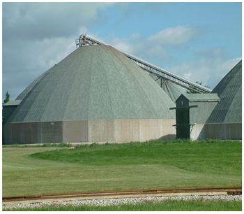 Themis - Pellet Production & Storage Dome