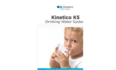 Kinetico K5 Residential Drinking Water Filter Brochure