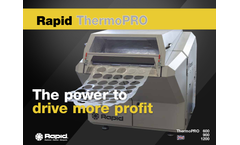 Rapid ThermoPRO - In-House Recycling System Brochure