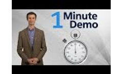 One Minute Demo Video