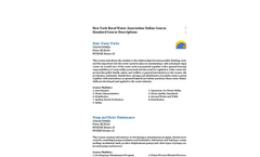 NYRWA - - Online Training Courses Brochure