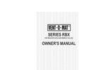 Vent-O-Mat - Model RBX Series - Air Release Valves Brochure