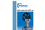 Model FB CL150 - Guided Ball Valves Brochure