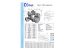 Model FB CL300 - Floating Ball Valves Brochure
