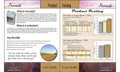 Pervaide - Air-Water Soil Mixture Brochure