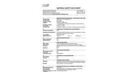 GREASOLUX™ MSDS