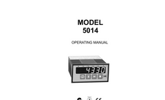 Instrotech - Model 5014 - Dynamometer Indicator Brochure